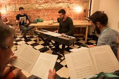 Warsztaty Muzyki Niezwykłej - praca wgrupach