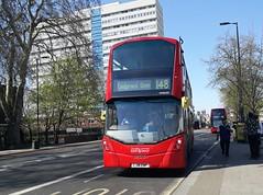 RATP London United VH45192 LJ16EWP | 148 to Camberwell Green (Unorm001) Tags: vh45192 vh 45192 vh92 92 lj16ewp lj16 ewp 148 red london double deck decks decker deckers buses bus routes route diesel hybrid electric dieselelectric battery batteryelectric hybridelectric