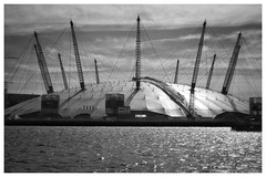 The Martians live among us... (zapperthesnapper) Tags: sonyrx100 sonyimages sonycybershot sony millenniumdome o2arena riverthames london river dome modernarchitecture architectural