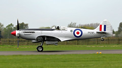 PS915 SPITFIRE  BBMF RAF (MANX NORTON) Tags: raf coningsby egxc bbmf dakota lancaster spitfire hurricane chipmunk ps915