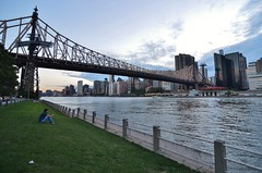 Roosevelt Island, 08.17.16 (gigi_nyc) Tags: queensborobridge bridge nyc rooseveltisland newyorkcity summer
