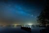 Sur le lac, la voie lactée (prenzlauerberg) Tags: 2018 voielactée lac lake lacdeneuchâtel landscape eau ciel sky 1424 nikon nikond610 suisse switzerland schweiz paysage