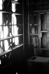 Lawrence MA_film-29 (them_cairo_doors) Tags: film bw manual minolta minoltax700 architecture mill abandoned