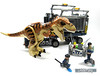 Run for your lives! (WhiteFang (Eurobricks)) Tags: lego dinosaurs trex jurassic park world fallen kingdom tyrannosaurus acus security military patrol weapons science scientist research island transport armoured