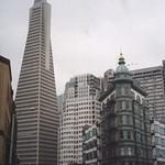San Francisco California - Columbus Tower aka Sentinel Building - Transamerica Pyramid Building thumbnail