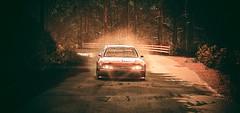 Ominous (polyneutron) Tags: photography rally motorsport citroen slre evo pc automotive wet dark filter lightroom