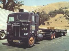 Kenworth COE: Bigge #T3-52 (PAcarhauler) Tags: kw kenworth coe cabover semi tractor trailer