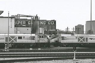Locomotives at 18th Street