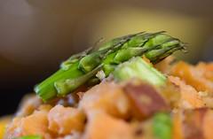 Leftovers (OzzRod) Tags: pentax k1 smcpentaxdfa100mmf28macro food vegetables asparagus bokeh leftovers dailyinjuly2018