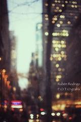 Tomorrow (Mister Blur) Tags: nyc new york city building blur blurry lights dusk rockefeller center street snapseed textures nikon d7100 35mm desenfoque tomorrow