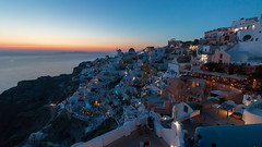 Sun On Sunday (sdupimages) Tags: lumière méditerranée grèce couchédesoleil bluehour landscape cityscape seascape paysage mer sea sunset soleil horizon ciel eau sky light