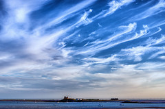 Big Sky Over Piel Island (Stephen Reed) Tags: bigsky colorefexpro4 nikon d7000 lightroomcc cumbria coast hdr england summer