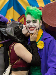 Harley Quinn & Joker (irrational.photography) Tags: harley quinn joker cosplay cos play anime japan comic book comicbook convention costume movie tv show dress up mascarade masquerade