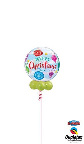 Christmas Ornaments Bubble