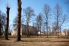Сад им. 30-летия Октября (donnicky) Tags: saintpetersburg baretree building city cityscape clearsky daylight field goodweather ground land landscape lowangleview nature nopeople outdoor park publicsec sky tranquility trees wideangle