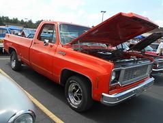 1973 Chevy C-10 Custom Deluxe (splattergraphics) Tags: 1973 chevy c10 customdeluxe fleetside pickup truck carshow churchoftheopendoor yorkpa