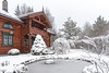 Home, sweet winter home - Norway (Ingunn Eriksen) Tags: home homesweethome winter winterwonderland snow snowing house cottage pond goldfishpond watergarden nikond750 nikon