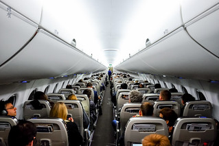 Cabin of the CSeries 100
