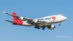PH-MPS   Boeing 747-400(F) - Martinair Holland (Peter Beljaards) Tags: phmps martinair cargo freighter boeing747f 747 ams eham landing final nikond5500