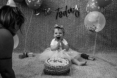 Baby Zayla-10 (Andy barclay) Tags: baby happy birthday 1st toddler girl cake smash one first smile messy portrait young pink