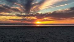 Sunset, Seaside OR (twahl8) Tags: timelapse video sunset sun clouds sea oregon sky landscape