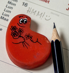 eraser (3OPAHA) Tags: eraser hmm macromondays barbapapa sony