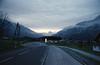 Hallstadt 2017 (rixo.hmnby) Tags: 35mm 35 film analog analoglove roadtrip landscape overcast sky underexposed road mountains austria alps nature concrete asphalt