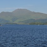 Grande vue sur le Loch Lomond, Luss, Argyll and Bute, Ecosse, Royaume-Uni. thumbnail