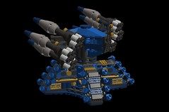 ronin defenese turret2 (demitriusgaouette9991) Tags: military lego army ldd armored deadly defense turret powerful mecha future missile