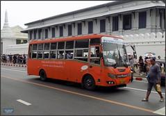 Bangkok Grand Palace Bus 20180128_113746 DSCN1961 (CanadaGood) Tags: asia seasia asean thailand thai ราชอาณาจักรไทย bangkok krungthep palace temple wall building architecture canadagood 2018 thisdecade color colour