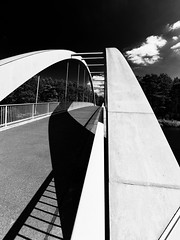 Grabowseebrücke (Pascal Volk) Tags: friedrichsthal oranienburg oberhavel brandenburg brücke bridge puente oderhavelkanal ohk canal odrohavelkanalo artinbw schwarz weis black white blackandwhite schwarzweis sw bw bnw blancoynegro blanconegro wideangle weitwinkel granangular superwideangle superweitwinkel ultrawideangle ultraweitwinkel ww wa sww swa uww uwa sommer summer verano canoneos6d 16mm dxophotolab dxosilverefexpro nikcollection