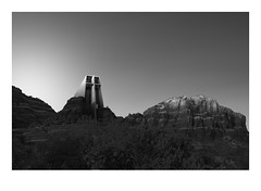 capella (Dennis_Ramos) Tags: chapel cross sedona arizona minimal fineart blackwhite dennisramos landscape rock