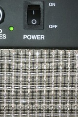 Mesh - on an Amplifier (-SOLO--) Tags: amplifier macromondays mesh switch canon