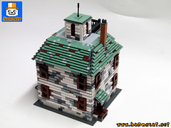 HAUNTED HOUSE 02 (baronsat) Tags: lego haunted house custom moc model scale alexander train rail h0 railroad victorian bates motel playset minifigs monsters ghosts ghostfacers hunters ghosthouse spirits of the dead parapsychologistssupernatural winchester mystery death building past 19e century steampunk violent tragic events murder accidental suicide