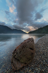 Alouette Sunset (Bun Lee) Tags: landscape bc beautiful britishcolumbia bunlee bunleephotography canada clouds cloudy cloudyskies explorebc mountains natural nature outdoors park scenic tree vancouver water wideangle