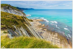 """Sakoneta beach"" (Gerkraus) Tags: playa canon paisaje landscape flysch paisvasco guipuzcoa"