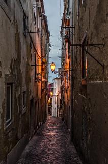 Lisbon / Lisboa; Alfama Street
