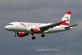 A319-112 OE-LDE AUSTRIAN AIRLINES