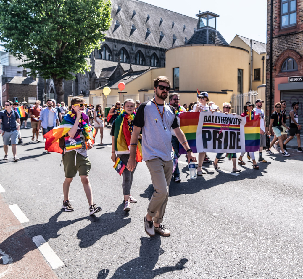 ABOUT SIXTY THOUSAND TOOK PART IN THE DUBLIN LGBTI+ PARADE TODAY[ SATURDAY 30 JUNE 2018] X-100177