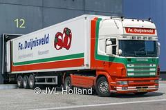 Scania R124L 420 (2004)  NL  Fa-Duijnisveld  180517-075-C2 ©JVL.Holland (JVL.Holland John & Vera) Tags: scaniar124l4202004 nl faduijnisveld westland transport truck lkw lorry vrachtwagen vervoer netherlands nederland holland europe canon jvlholland