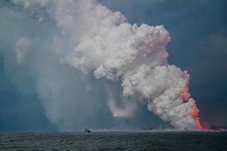 Hawaii Kilauea Volcano Lava Laze Boat Tour View 3