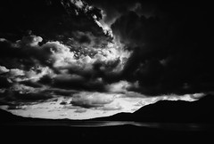 Cloud Window (-- Q --) Tags: clouds republicofireland connemaranationalpark leefilters qthompson lakes mountains