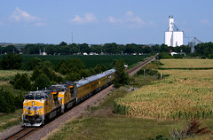 UP Engineering Special #3 (Jeff Carlson_82) Tags: up 2666 passenger special kansas unionpacific