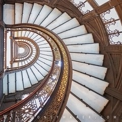 The Rookery: The Beauty That Is Within (Will.Moneymaker) Tags: chicago therookery masterpiece architectural design architect franklloydwright landmark historic johnwellbornroot danielburnham stairs artdeco homealoneii lostinnewyork untouchables beauty beautiful spiral tranquility striking visual sturdy historical skyscraper iconic steel exploration ascending
