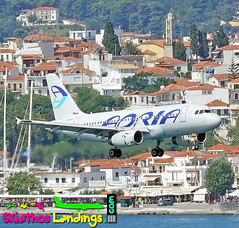 "Adria Airways A319 • <a style=""font-size:0.8em;"" href=""http://www.flickr.com/photos/146444282@N02/42453761055/"" target=""_blank"">View on Flickr</a>"