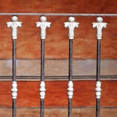 rail detail (msdonnalee) Tags: railing ironrailing finials museum queretaro museodearte walldetail mexico mexiko messico mexique