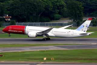 Norwegian | Boeing 787-9 | G-CJGI | Singapore Changi