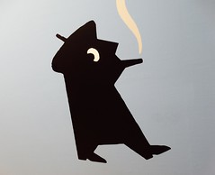 """The Dark Side of Dick Bruna"", Kunsthal Rotterdam (Miranda Ruiter) Tags: darksideofdickbruna dickbruna zwartebeertjes thriller crime bookcovers graphicdesign design art exhibition kunsthal rotterdam"