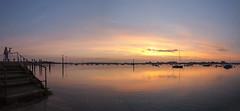 A Point Of Interest (Visible Landscape) Tags: uk england westsussex bosham sunset boats visiblelandscape
