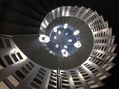 (Elbmaedchen) Tags: århus staircase stairwell stairs stufen steps treppenhaus treppenauge treppe escaliers escaleras roundandround helix upstairs upanddownstairs denmark danmark dänemark aarhus interior inside architektur architecture